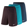 NIKE Men`s Court Plaid 9 Inch Tennis Short
