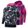 NIKE Girls` KO 3.0 Over the Head Allover Print Top