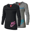 NIKE Girls` Futura Long Sleeve Jersey
