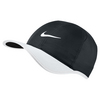 NIKE Men`s Featherlight Tennis Cap Black and White