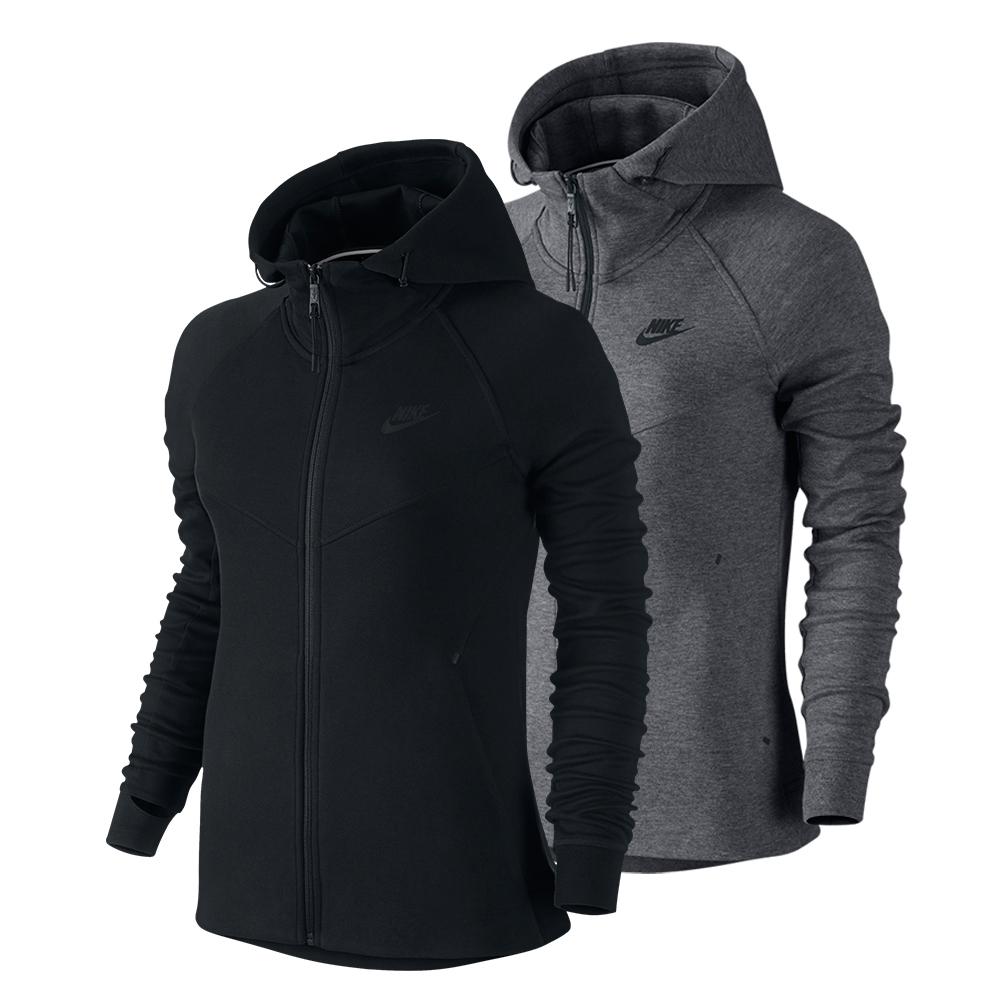 Women`s Tech Fleece Full Zip Tennis Hoodie