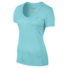 NIKE Women`s V-Neck Legend Short Sleeve Train Tee 2.0