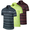 NIKE Men`s Court Sphere Striped Tennis Polo