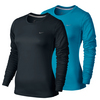NIKE Women`s Miler Long Sleeve Top