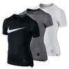 NIKE Boys` Cool Compression Short Sleeve Top
