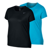 NIKE Women`s Exteneded Miler Short Sleeve Tee