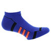 Men`s Climalite II No Show Tennis Sock 2 Pack Night Flash and Solar Red by ADIDAS