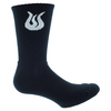 Men`s SOL Tennis Crew Socks 079_BLACK/WHITE