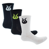 SOLFIRE Men`s SOL Tennis Crew Socks