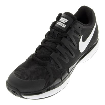 Men`s Zoom Vapor 9.5 Tour Tennis Shoes Black and Anthracite