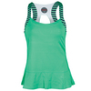 BOLLE Women`s Jubilee Strappy Tennis Tank Mint