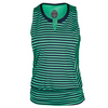 BOLLE Women`s Jubilee Patterned Tennis Tank Navy and Mint