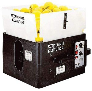 SPORTS TUTOR TENNIS TUTOR HEAVY BATTERY BALL MACHINE