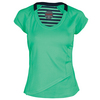 BOLLE Women`s Jubilee Cap Sleeve Tennis Top Mint