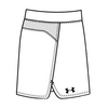 UNDER ARMOUR Women`s Team Kiltie Skort White