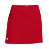 UNDER ARMOUR Women`s Team Kiltie Skort Red