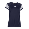 UNDER ARMOUR Women`s Zone Tee Midnight Navy