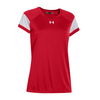 UNDER ARMOUR Women`s Zone Tee Red