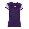 UNDER ARMOUR Women`s Zone Tee Purple