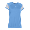 UNDER ARMOUR Women`s Zone Tee Carolina Blue
