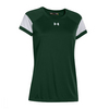 UNDER ARMOUR Women`s Zone Tee Forest Green