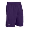 UNDER ARMOUR Men`s Assist Shorts Purple