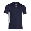 UNDER ARMOUR Men`s Zone Tee Midnight Navy