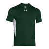 UNDER ARMOUR Men`s Zone Tee Forest Green