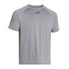 UNDER ARMOUR Men`s Lock Short Sleeve Tee True Gray