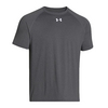 UNDER ARMOUR Men`s Lock Short Sleeve Tee Carbon Heather