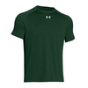 UNDER ARMOUR Men`s Lock Short Sleeve Tee Forest Green