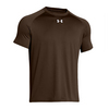 UNDER ARMOUR Men`s Lock Short Sleeve Tee Cleveland Brown