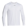 UNDER ARMOUR Men`s Locker Longsleeve Tee White
