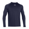 UNDER ARMOUR Men`s Locker Longsleeve Tee Midnight Navy
