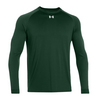 UNDER ARMOUR Men`s Locker Longsleeve Tee Forest Green