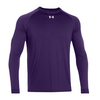 UNDER ARMOUR Men`s Locker Longsleeve Tee Purple