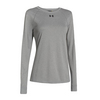 UNDER ARMOUR Women`s Locker Longsleeve Tee True Gray