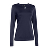 UNDER ARMOUR Women`s Locker Longsleeve Tee Midnight Navy