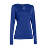 UNDER ARMOUR Women`s Locker Longsleeve Tee Royal