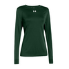 UNDER ARMOUR Women`s Locker Longsleeve Tee Forest Green
