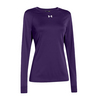 UNDER ARMOUR Women`s Locker Longsleeve Tee Purple