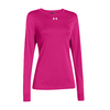 UNDER ARMOUR Women`s Locker Longsleeve Tee Tropic Pink