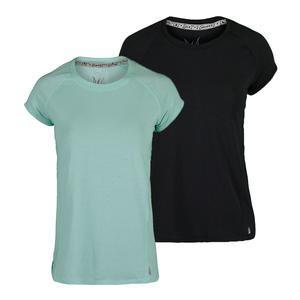 Women`s Breezy Cap Sleeve Tennis Top