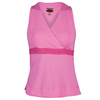BOLLE Women`s Mimosa Tennis Tank Rose