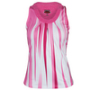 BOLLE Women`s Mimosa Patterned Tennis Tank Rose and White