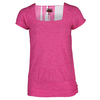 BOLLE Women`s Mimosa Cap Sleeve Tennis Top Rose