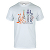 TENNIS EXPRESS Unisex City Slam Tennis Tee White