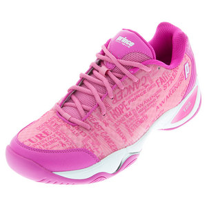 PRINCE WOMENS T22 LITE TENNIS SHOES PINK LTD