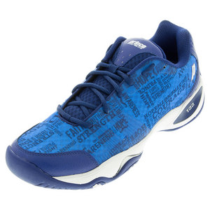 Men`s T22 Lite Tennis Shoes Blue and White