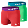 NIKE Girls` Pro Core Compression Short